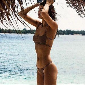 Other - 🆕Zarah Brown Bikini Top